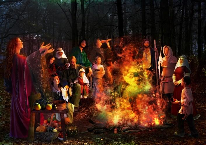 Bonfires and Halloween
