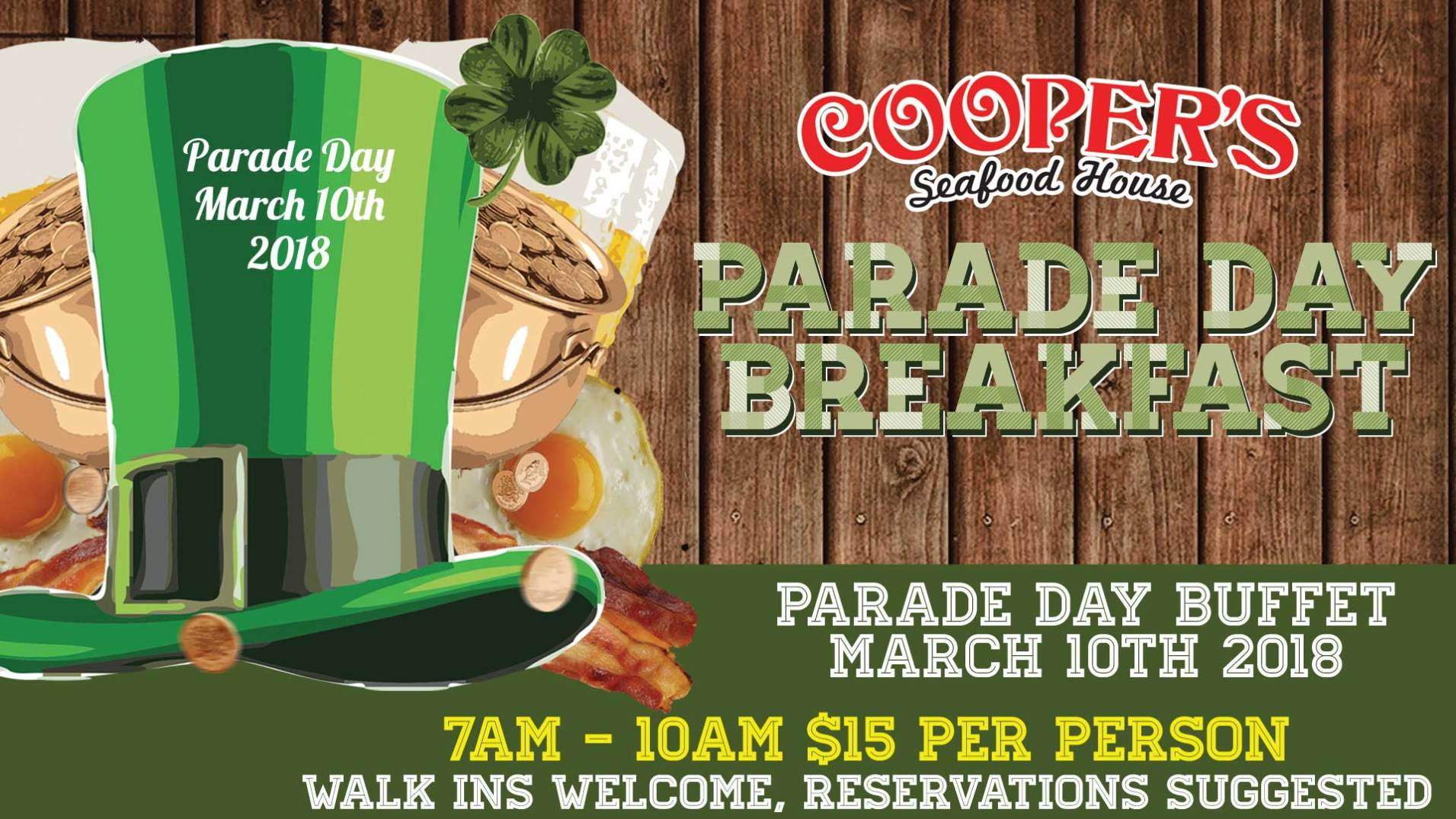 Enjoyable Parade Day Coopers Seafood House Home Interior And Landscaping Ologienasavecom