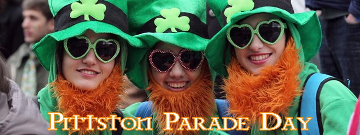 Pittston PA ST PATRICK'S Day Parade