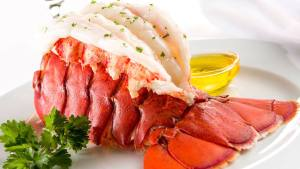 one pound lobster tail special