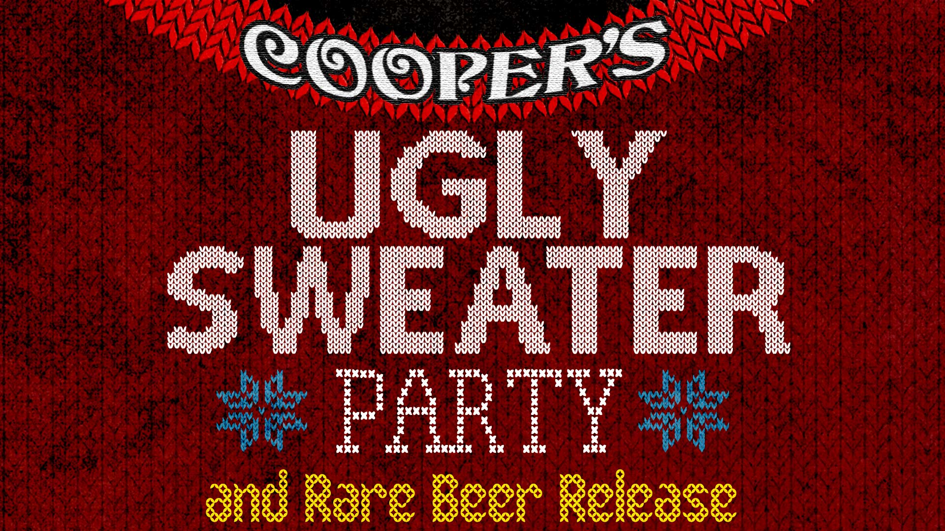 Ugly Sweater Party Rare Beer Release