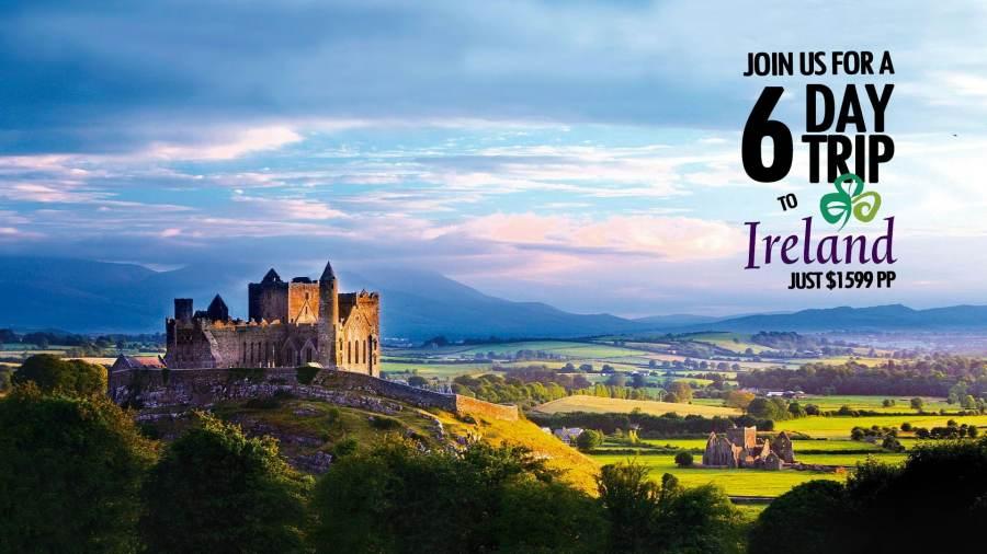 6 Day Trip to Ireland
