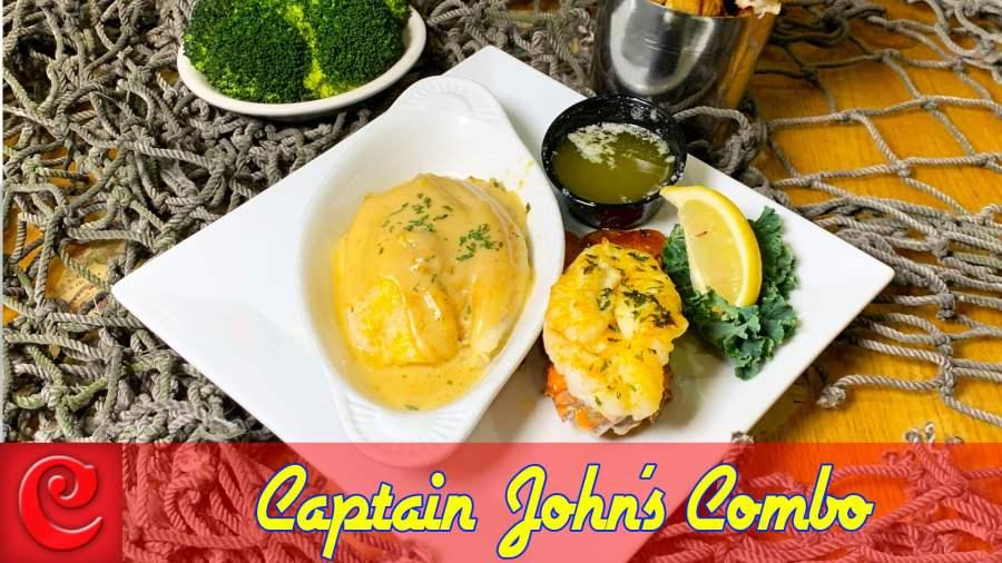 Captain John's Combo – 19.95