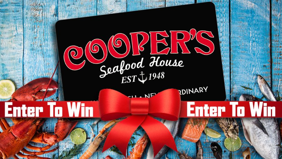 Enter to win a $25 Cooper's Gift Card!