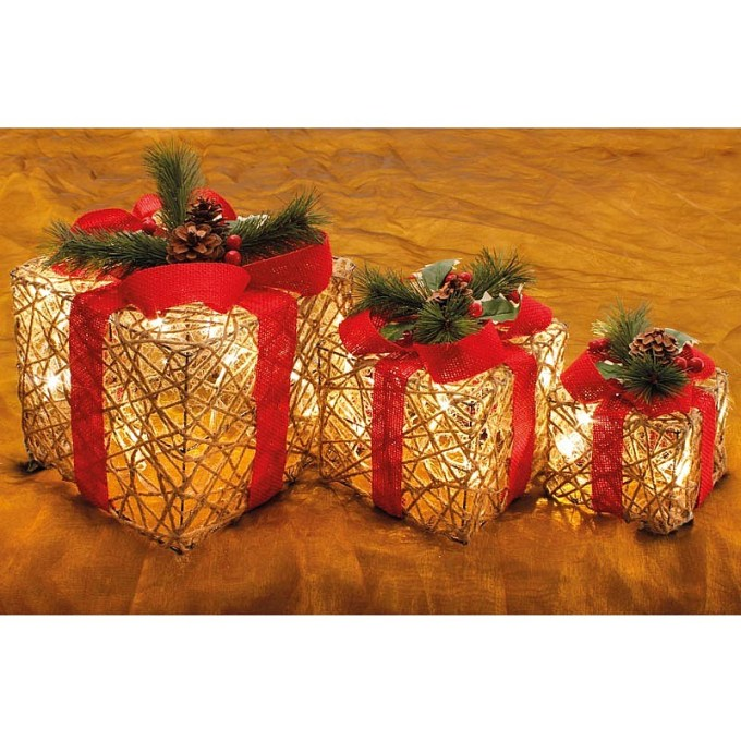 light up presents christmas decorations