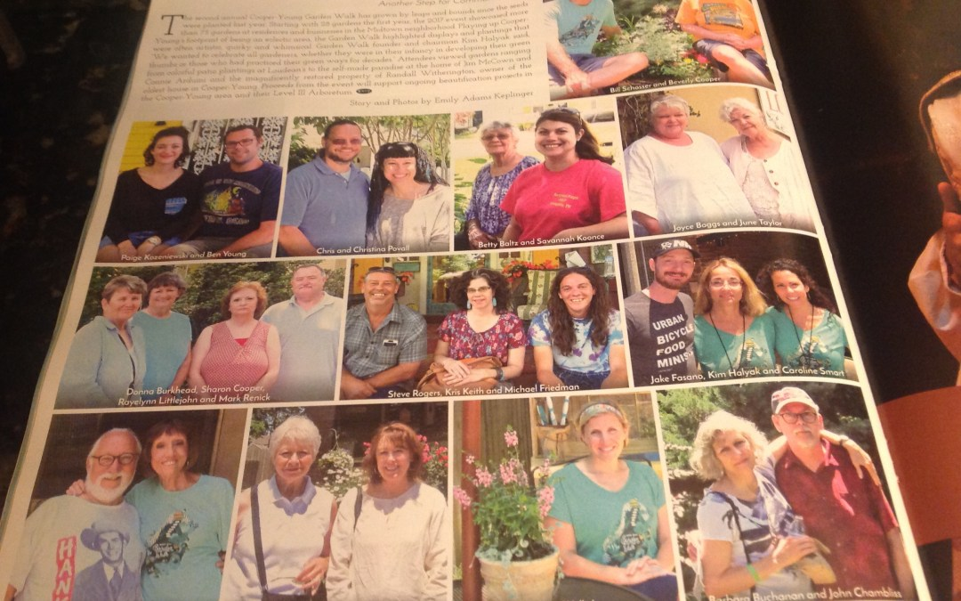 2017 2nd Annual Cooper Young Garden Walk Press Notices