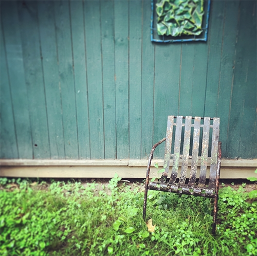 Lovely garden walk testimony from Lisa Orgler
