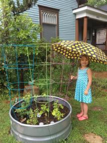 Samone's garden (Robin Salant pic)