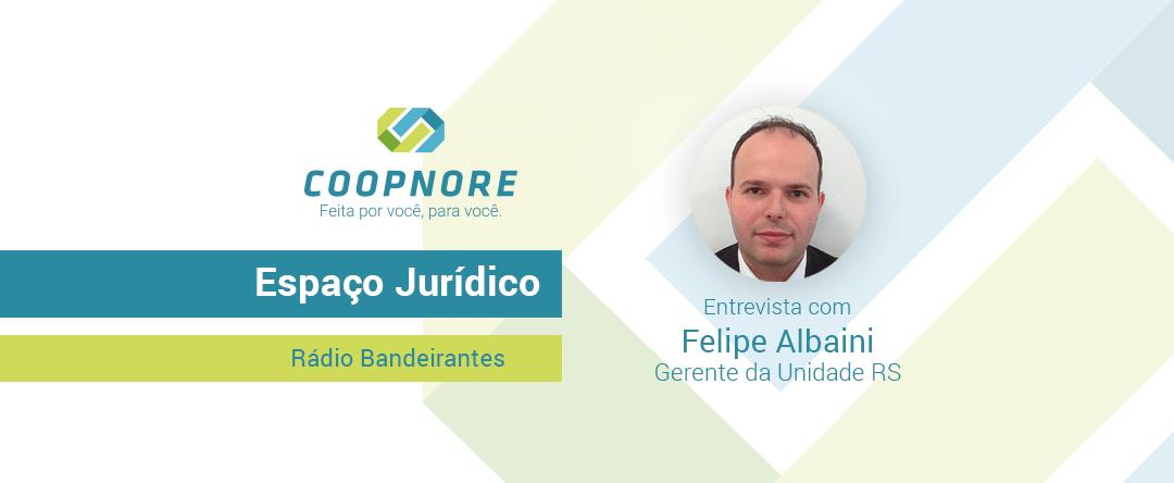 Espaço Jurídico – Entrevista com Felipe Albaini