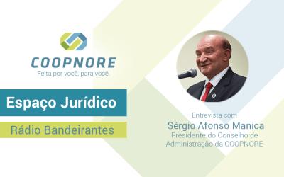 Espaço Jurídico – Entrevista com Sérgio Afonso Manica