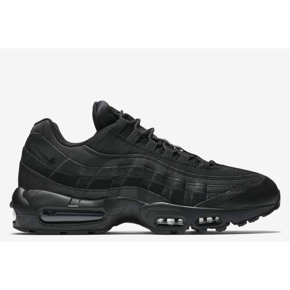 Nike Black Leather Air 2 All Max Fitsole