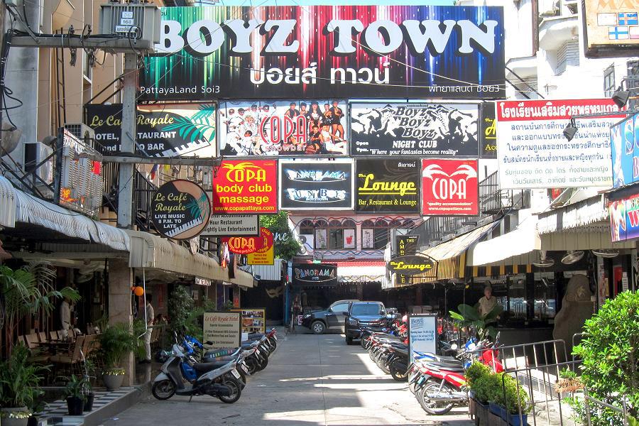 Copa Hotel, Boyz Town, Pattaya