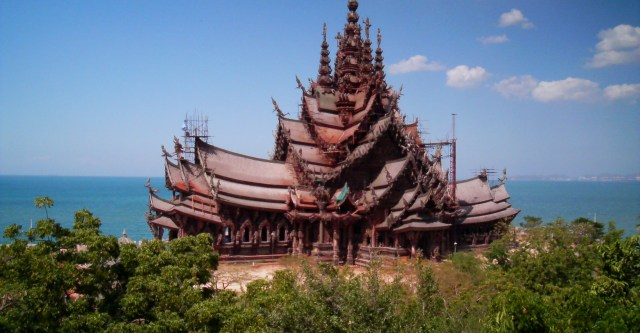 The Sanctuary of Truth, book this and other great attractions at the Copa Hotel Pattaya Tour Desk