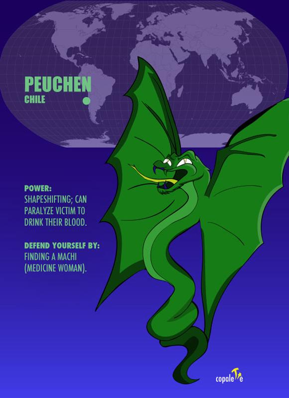 Şili Peuchen bölgesi ile ilgili görsel sonucu