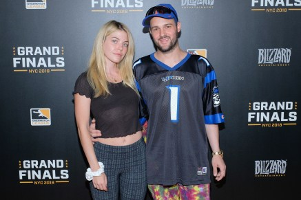 NEW YORK, NY - JULY 28: Samantha Flynn and Baron Von Fancy attend Overwatch League Grand Finals - Day 2 at Barclays Center on July 28, 2018 in New York City. (Photo by Matthew Eisman/Getty Images for Blizzard Entertainment )
