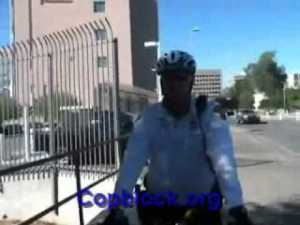 Federal Agent and Cop Harass Cop Blocker Filming a Courthouse