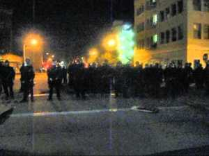 Shot By Oakland PD with Rubber Bullet