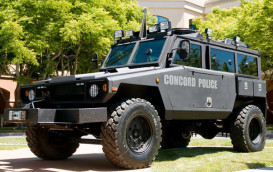 Jackbooted Thugs get a new ride in Concord CA