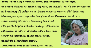 "Weinhaus ""Guilty"" – the Legaland Charade Continues"