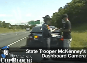 "VA Cop Block Founder Nate Cox Sued for ""Defamation"" by VA Trooper Melanie McKenney"