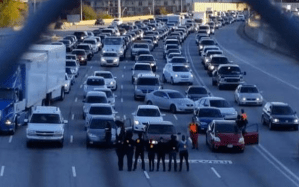 Anti-Police Brutality Protesters Shut Down Highway To Highlight Broken System
