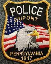Dupont PA Police Dept Patch