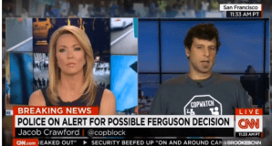 Jacob Crawford Imparts Knowledge on CNN Audience About Need to Film the Police