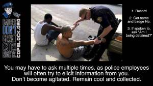 Five Must-Do's for Every Police Encounter