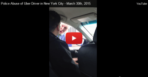 UPDATE: Cop That Harassed UBER Driver was on Elite FBI Team; Now Stripped of Badge/Gun