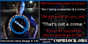 CopBlock the Austintown, Ohio Police