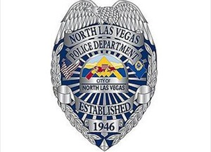North Las Vegas Police Badge