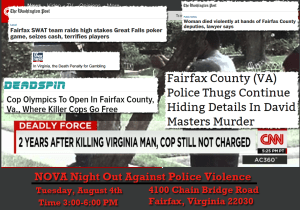Fairfax, Virginia— a Sanctuary County for Killer Cops