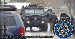 Boise Officers Flash-bang Wrong Apartment