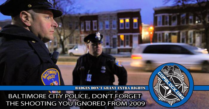 Baltimore Department Police City Logo