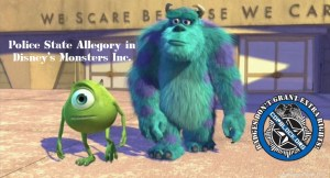 Police State Allegory in Disney's Monsters Inc.
