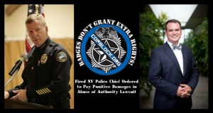 Fired NV Police Chief Ordered to Pay Punitive Damages in Abuse of Authority Lawsuit