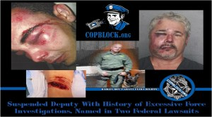 Suspended Deputy With History of Excessive Force Investigations, Named in Two Federal Lawsuits