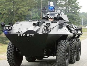 Militarized Police to Combat Domestic Terrorists