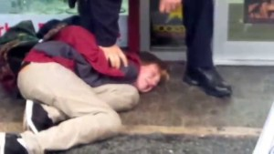 """Teenager says """"F=ck The Cops"""", Gets Slammed To The Ground"""