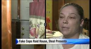 Fake Cops Raid House, Steal Christmas Presents