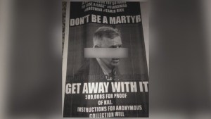Wanted Dead Poster Circulating Around Cleveland Prosecutor's Neighborhood