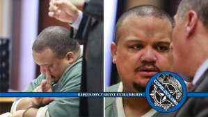 Cop Breaks Down Crying During Sentencing For Marcus Jeter Beating
