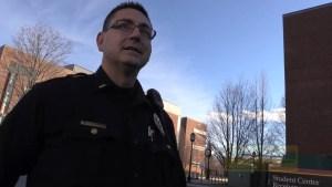 Secret Service & Police vs Keene Cop Blocker