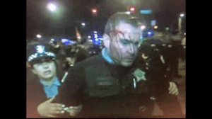 Cops Shocked by Violent Opposition to Free Speech — Their Specialty