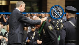 Drunk NYPD Officer Celebrated Winning Bravery Award by Breaking Into House, Assaulting Woman