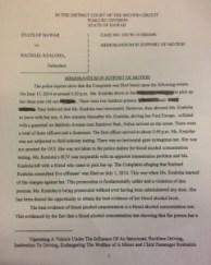 Officer Rachel Garvin Trial Motion