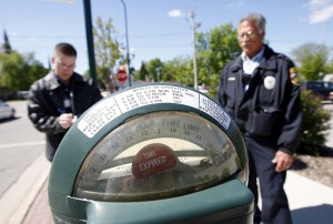 Parking Meter Cop Justifies Faulty Meters With Violence
