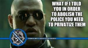 Why Privatization Of Police Is A Necessary Precondition Of Abolition