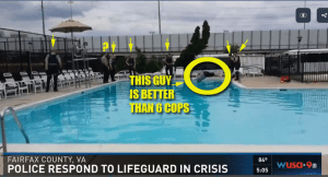 Fairfax Cops Stand Idly By As Man Drowns in Pool