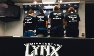 Minnesota Police Officers Walk Off Job at WNBA Basketball Game Over T-Shirts